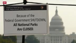 Video «Eine Woche «Shutdown» in den USA» abspielen