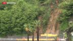 Video «Unwetter im Süden der Schweiz und im Norden Italiens» abspielen