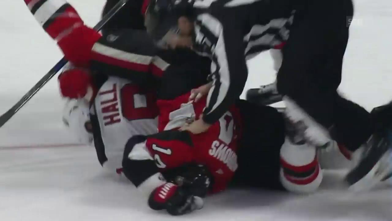Knie gegen Kopf: Burrows rastet aus