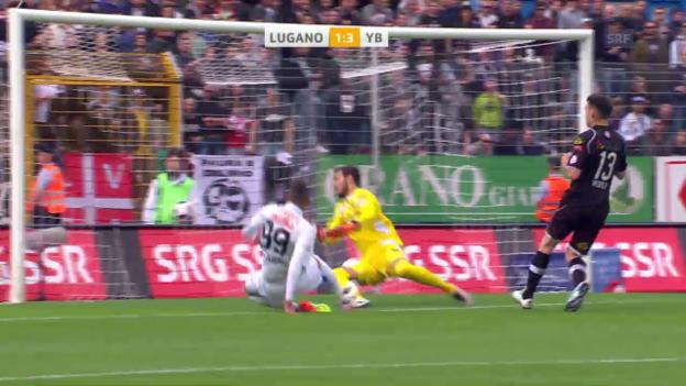 Video «Sieben verhängnisvolle Minuten: Lugano verliert gegen YB» abspielen