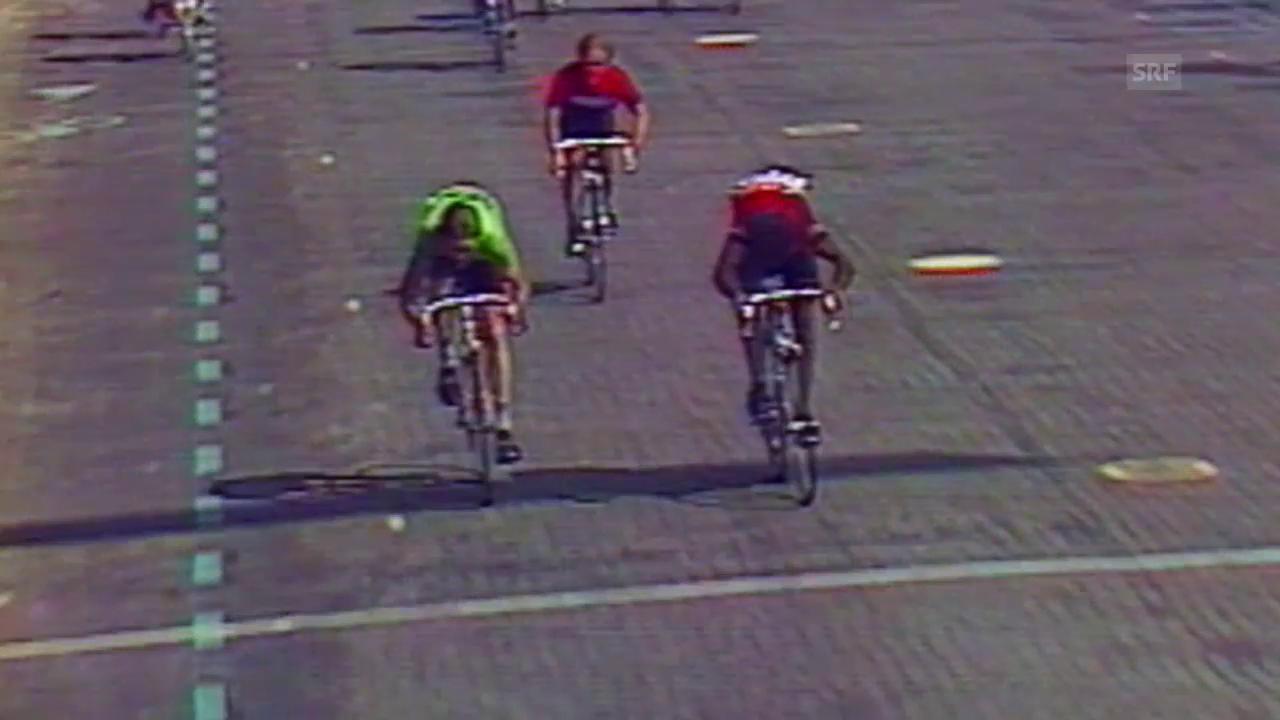 Rad: Tour de France, 40 Jahre Zielankunft in auf den Champs-Elysées