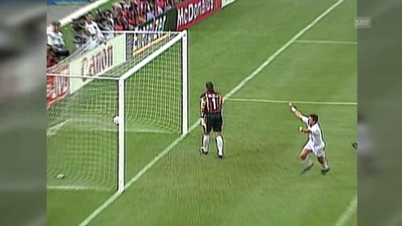 Fussball: Rückblick auf das WM-Eröffnungsspiel 1994 USA - Schweiz