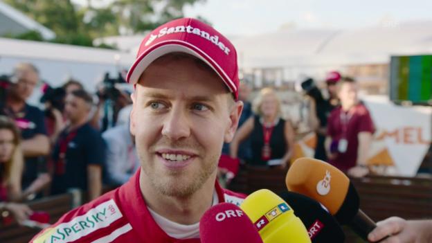 Video «Vettel: «Das Team verdient den Erfolg»» abspielen