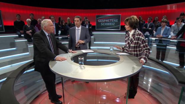 Video «Gespaltene Schweiz? Das Duell» abspielen