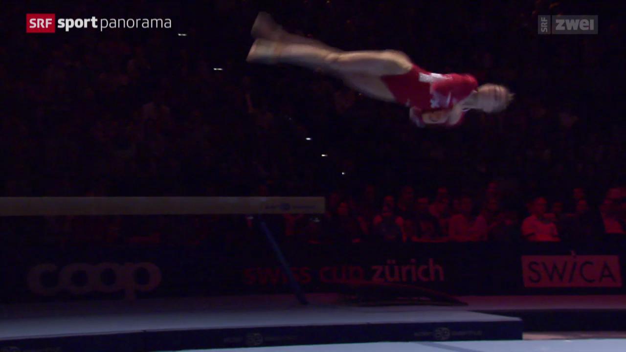 Turnen: Swiss Cup in Zürich