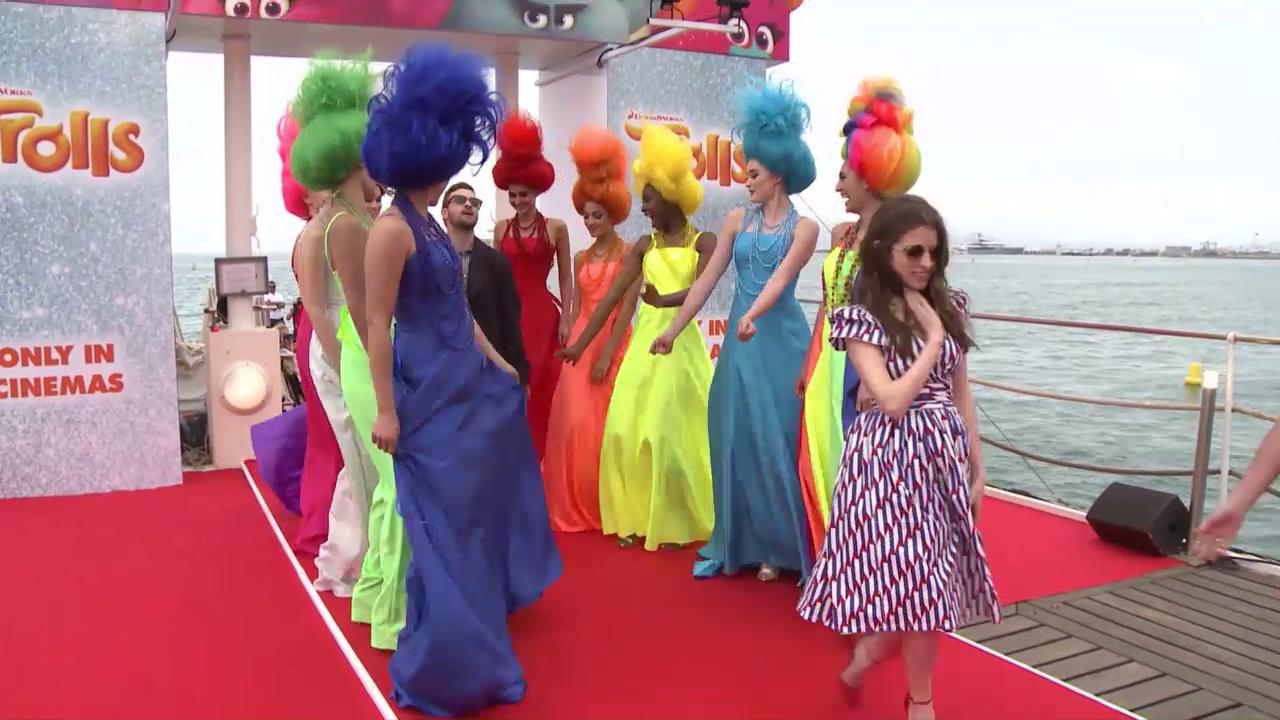 Da stehen die Haare zu Berge: Justin Timberlake auf Werbetour in Cannes