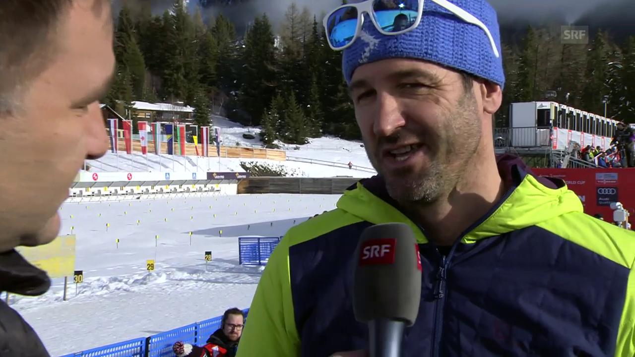 Adriano Iseppi zum Tour-de-Ski-Etappensieg von Dario Cologna