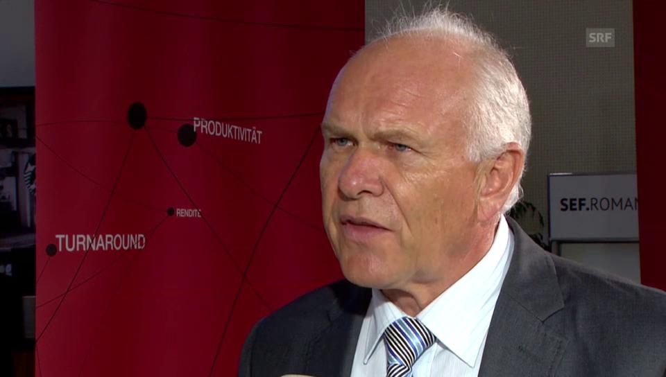 Swissmem-Präsident Hess: «Wissenstransfer ist wie Infrastruktur»