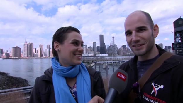 Video «Nina Burri erobert New York» abspielen