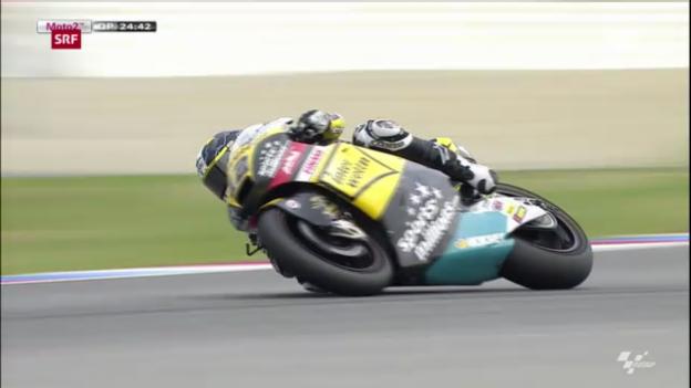 Video «Moto2: Qualifying GP Tschechien («sportaktuell»)» abspielen