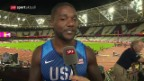 Video «Gatlin: «Bolt wird zurückkommen»» abspielen