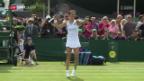 Video «Golubic mit erfolgreicher Premiere in Wimbledon» abspielen