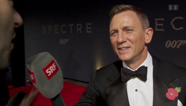 Video ««Spectre»-Weltpremiere in London» abspielen