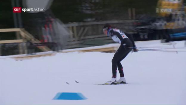 Video «Björgen unantastbar, von Siebenthal ratlos» abspielen