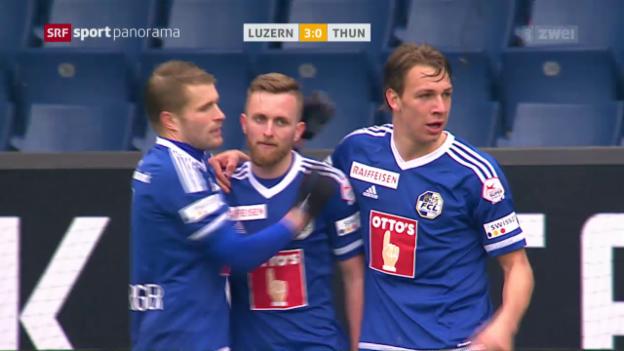 Video «Luzern lässt Thun keine Chance» abspielen