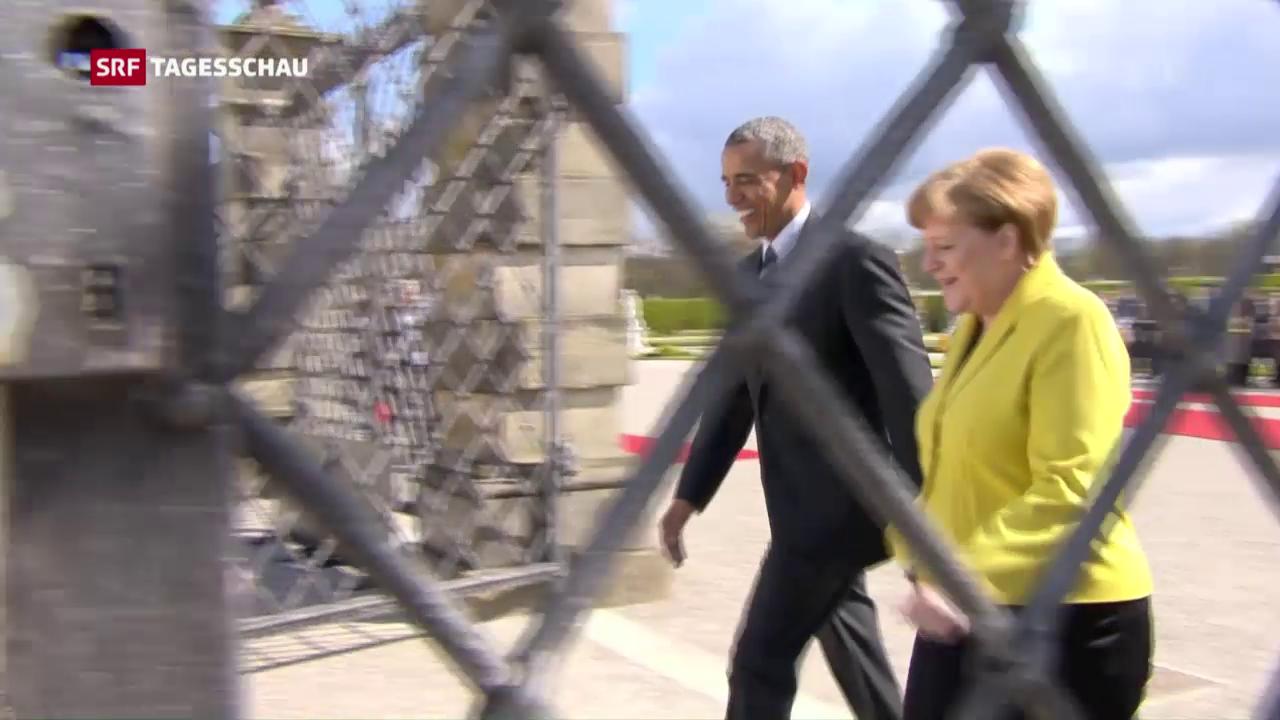 Obama buhlt um die Gunst der Deutschen