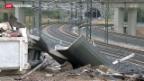 Video «Ermittlungen zum Zugunglück in Spanien» abspielen