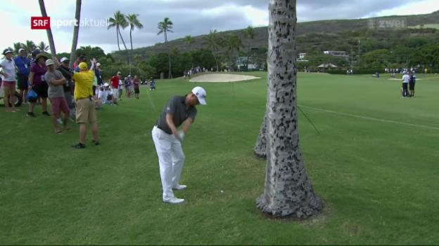 Video «Golfer Justin Thomas: Ein Turnier für die Geschichtsbücher» abspielen