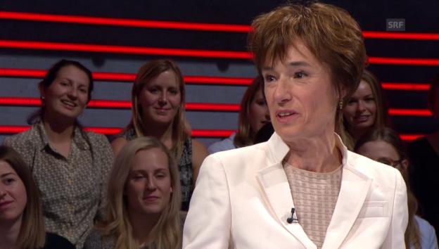Video «Letze Frage in der «Arena» Rentenreform» abspielen