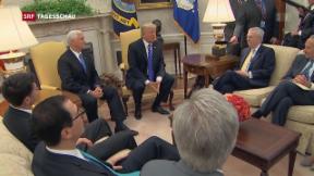 Video «Trump und Demokraten spannen zusammen» abspielen