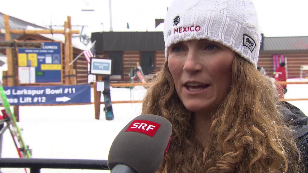 Ski alpin: WM in Vail/Beaver Creek, Sarah Schleper über ihre Fernziele