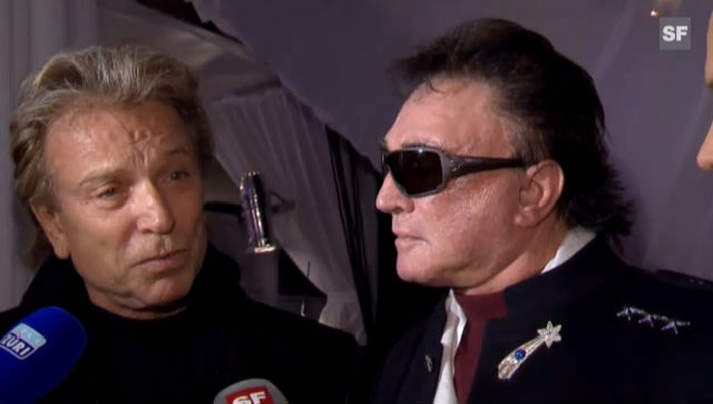 Siegfried und Roy über ihre Reise in die Schweiz