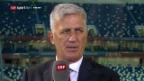 Video Petkovic: «Am morgen arbeiten wir für den Gruppensieg» abspielen.