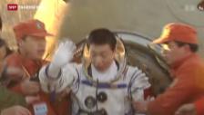 Video «Ehrgeiziges Ziel Mondlandung - ein Rückblick.» abspielen