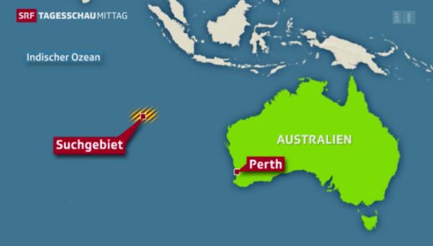 Video «Verwirrung um Flug MH370» abspielen