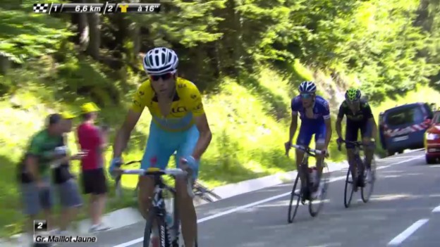 Video «Rad: Tour de France, 13. Etappe» abspielen