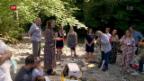 Video «Die kirchliche Taufe hat immer mehr Konkurrenz» abspielen
