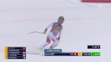 Video «Die Siegesfahrt von Lara Gut in Lake Louise» abspielen