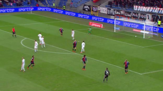 Video «Fussball: Super League, Elnenys Tor gegen Luzern» abspielen