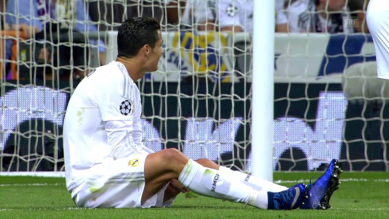 Die wichtigsten Szenen von Cristiano Ronaldo