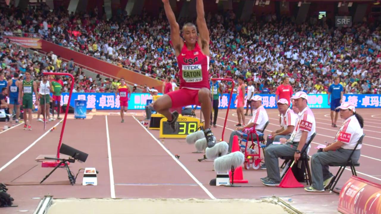 Leichtathletik: WM 2015 in Peking, Zehnkampf