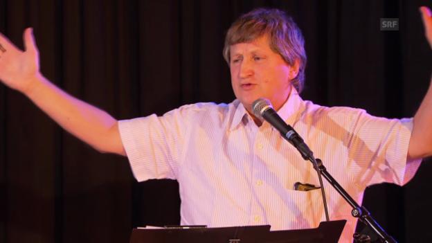 Video «Gusti Pollak: «Philosophie hat Konjunktur, wie die Konjunktur Krise hat»» abspielen