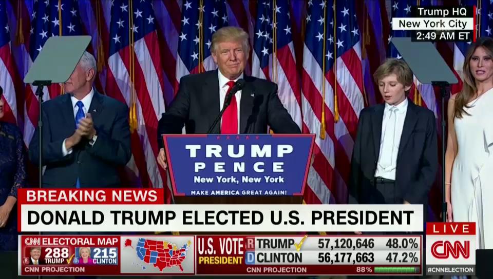 Ils emprims pleds dal president Donald Trump (cun traducziun tudestga)