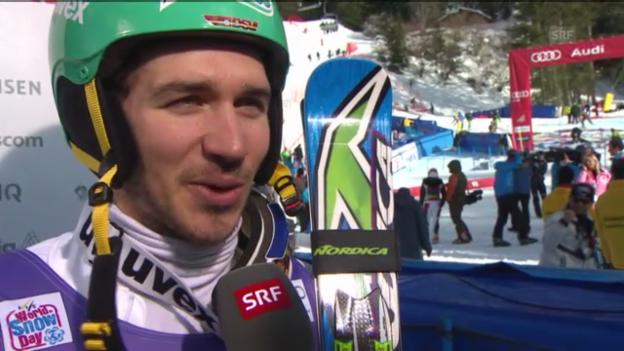 Video «Ski alpin: Interview Neureuther («sportlive»)» abspielen