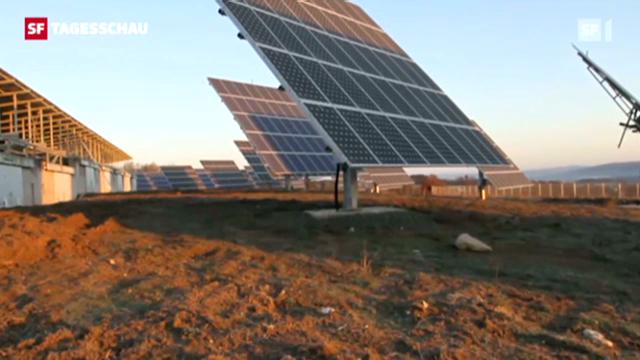 Die Solarindustrie ist in der grössten Krise seit ihrem Bestehen. (Tagesschau 16.8.2012, 19:30 Uhr)