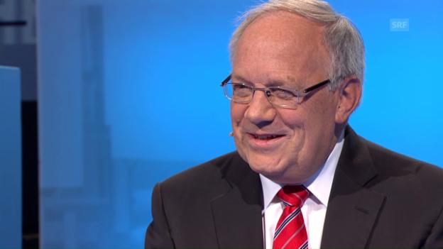 Video «Bundespräsident Johann Schneider-Ammann über den Staatsbesuchs von François Hollande» abspielen