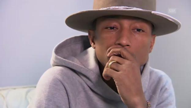 Video «Pharrell Willams: «Mit dem Erfolg habe ich nicht gerechnet»» abspielen
