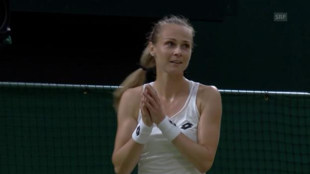 Video «Rybarikova schlägt Vandeweghe» abspielen