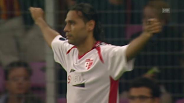 Video «Sion schlägt Galatasaray im Stade de Genève» abspielen