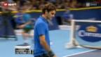 Video «Tennis: Final Swiss Indoors Basel» abspielen