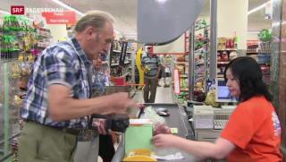 Video «Die Schweiz profitiert von Sanktionen gegen Russland» abspielen