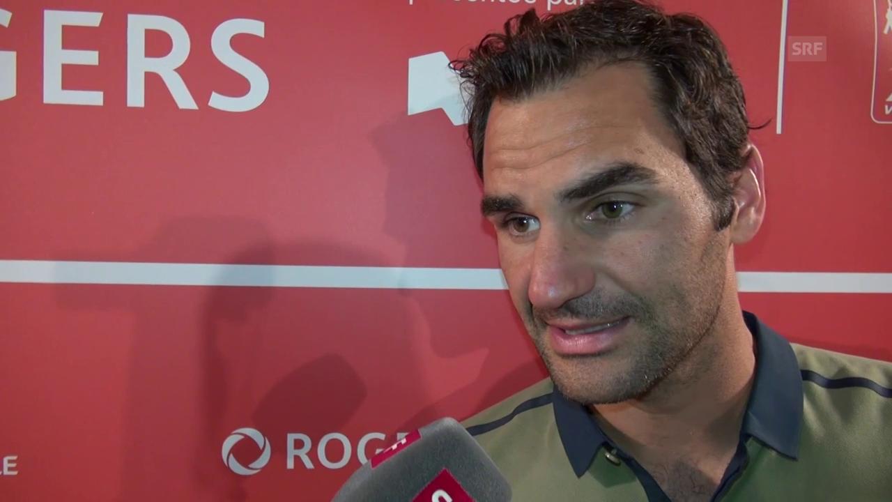 Federer: «Jetzt bin ich etwas müde»