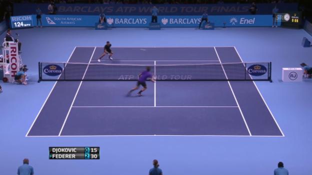 Video «12.11.2012: Federer-Djokovic (ATP Finals London, Final)» abspielen