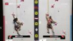 Video «Klettern: WM-Kombination mit Petra Klingler» abspielen