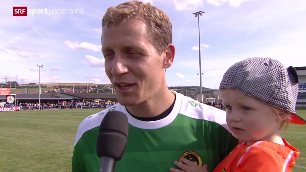 Fussball, Schweizer Cup: Bavois - Young Boys