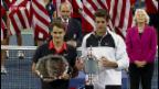 Video «Vorschau auf den Viertelfinal-Knüller Federer-Del Potro» abspielen